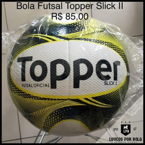 b743bf4de3 Bola Futsal Topper Slick II Amarela - Esportes e ginástica - Aleixo ...