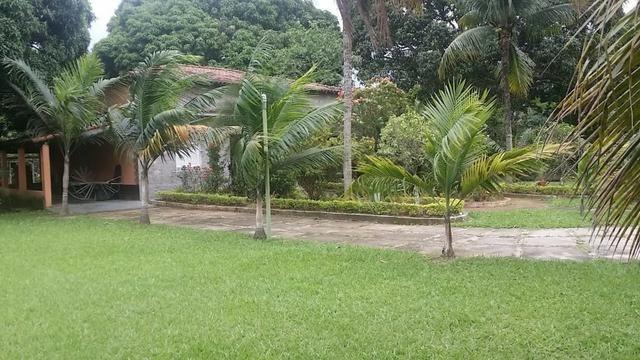 Sítio 9.000 m² com 2 casas - piscina - área social - todo murado - Itaguaí - Foto 12