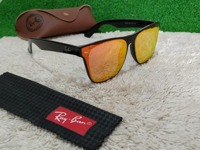 Óculos Ray Ban lentes laranja super tendência - Bijouterias ... 57e4c7c12a
