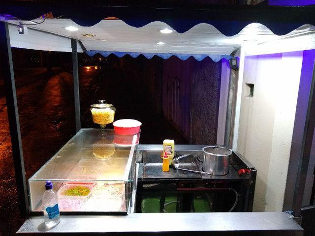 Vendo esse carrinho personalizado pra Hot dog   - Foto 2