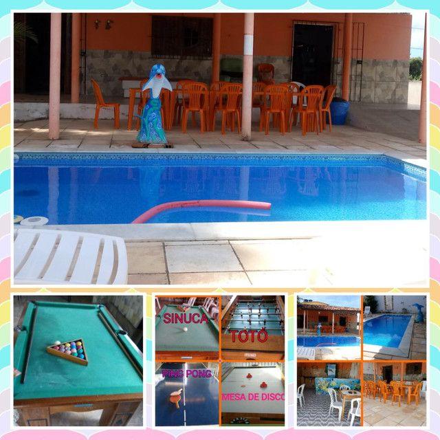 Casa com piscina e sala de jogos - Foto 2