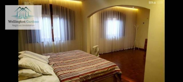 Sobrado com 4 dormitórios para alugar, 339 m² por R$ 5.000/mês MAIS IPTU DE R$350,00 - Jar - Foto 2