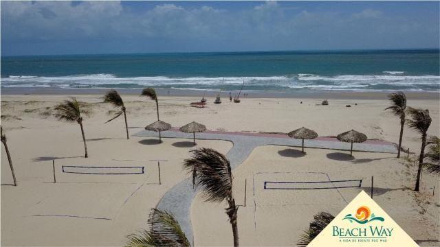 Apartamento à venda com 2 dormitórios em Porto das dunas, Aquiraz cod:DMV111 - Foto 17