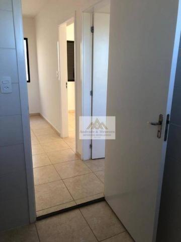 Apartamento com 2 dormitórios para alugar, 42 m² por R$ 700,00/mês - Bonfim Paulista - Rib - Foto 10