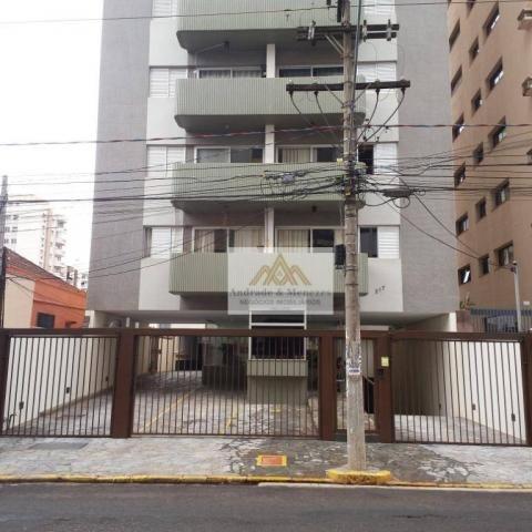 Apartamento com 1 dormitório para alugar, 69 m² por R$ 750,00/mês - Centro - Ribeirão Pret