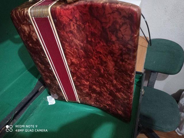 Vendo acordeon Mascarenhas - Foto 3