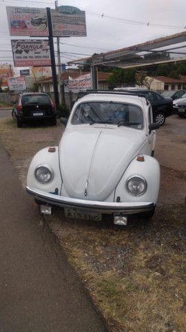 Fusca 1300 1975 branco vendo fone watsap - * sidval