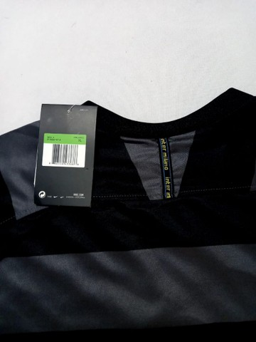 Camisa Inter de Milão Third 20/21 s/n° Torcedor Nike Masculina - Cinza+Amarelo - Foto 2