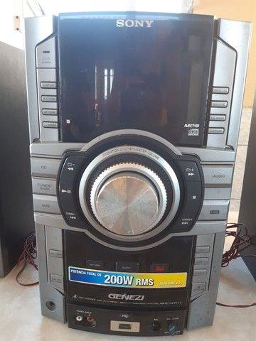 Mini System Sony GENEZI MHC-GT111 200W RMS - Foto 2