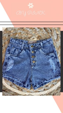 Short Jeans R$: 75,00 Loja Virtual