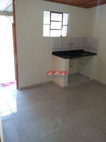 Casa com 1 dormitório para alugar, 50 m² por R$ 700,00/mês - Vila Santa Terezinha - Várzea - Foto 3