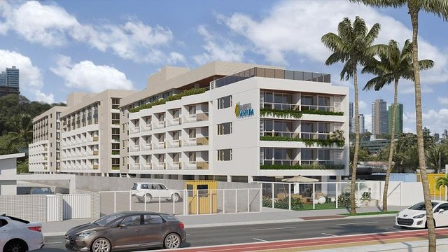 Apartamento à venda, 44 m² por R$ 528.325,88 - Cabo Branco - João Pessoa/PB