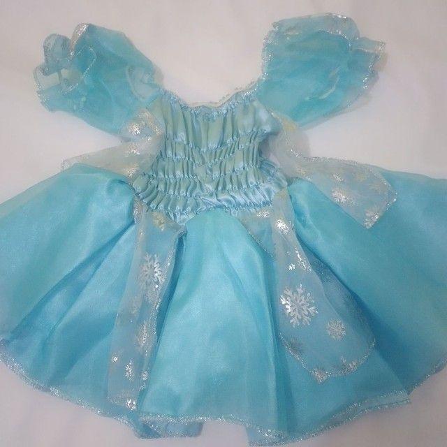 Vestido da Frozen  - Foto 3