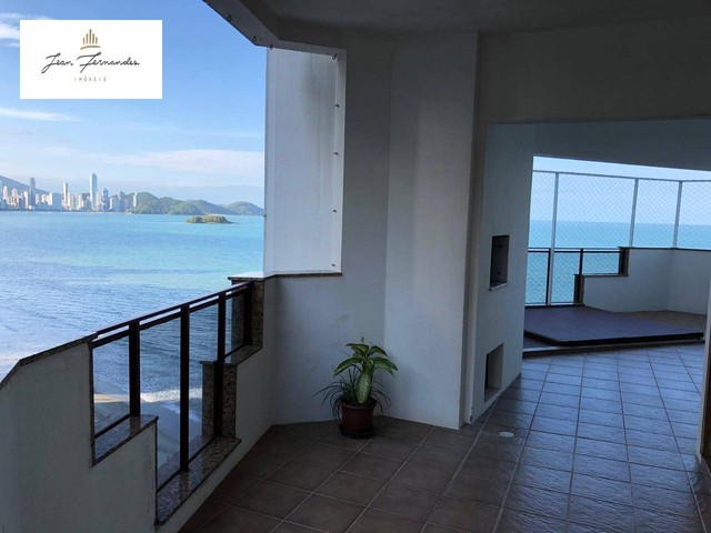 Apartamento com 4 dormitórios à venda por R$ 2.600.000 - Frente mar - Balneário Camboriú/S
