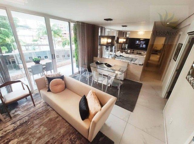 Apartamento com 3 dormitórios à venda, 127 m² por R$ 1.273.818 - Aldeota - Fortaleza/CE - Foto 8