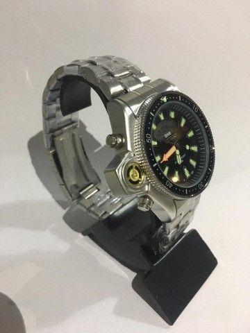 Relógio Modelo Aqualand Prata - Foto 2