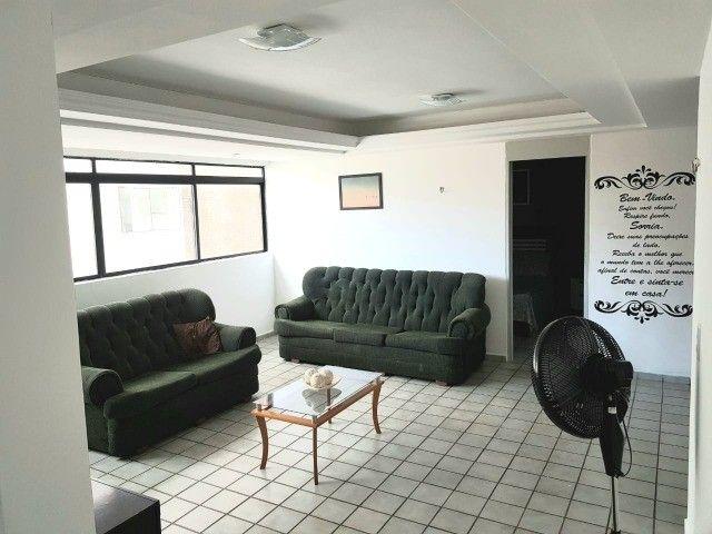 Ponta de Campina  - Vendo apartamento mobiliado! 200 metros do mar!  - Foto 4