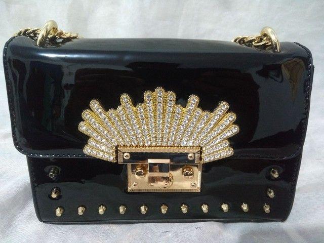 Bolsa feminina transversal luxo promoção barata  - Foto 2