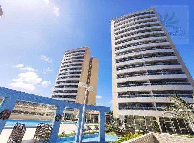 Apartamento com 3 dormitórios à venda, 81 m² por R$ 455.000 - Edson Queiroz - Fortaleza/CE