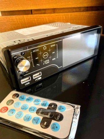 Rádio Automotivo MP5 Bluetooth Touch Screen e Comandos de Volante ??: - Foto 3