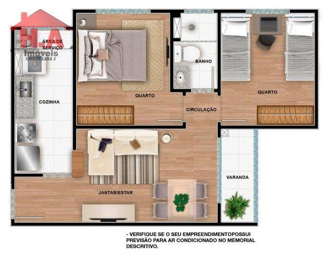 Apartamento à venda, 60 m² por R$ 189.690,00 - Passaré - Fortaleza/CE - Foto 15