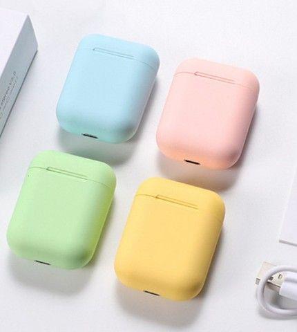 Inpods 12 Colors Fone Sem Fio Bluetooth : Verde - Foto 2