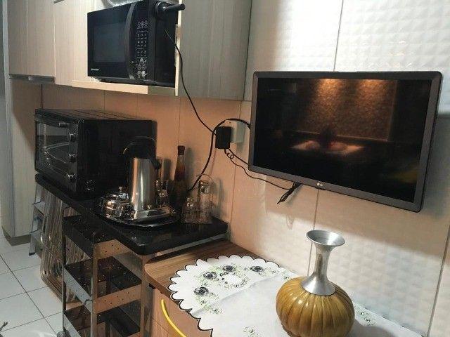 Apartamento 2/4 com Todos os Móveis Planejados - 55m² - Serraria - Foto 9