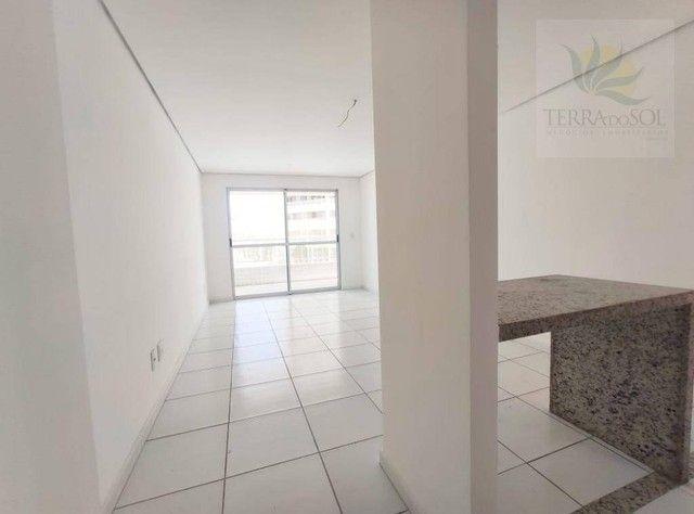 Apartamento com 3 dormitórios à venda, 81 m² por R$ 455.000 - Edson Queiroz - Fortaleza/CE - Foto 3