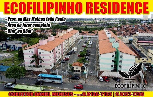 Alugo Ecofilipinho Residence   Filipinho   56m²   Mix Mateus   Daniel Meneses