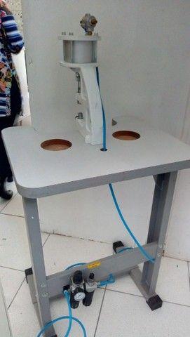Máquina de pregar botão de pressão - Foto 3