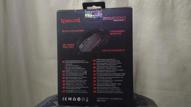 Mouse Gamer Redragon Inquisitor 2 - Foto 2