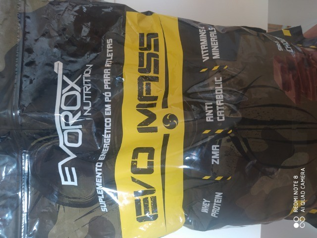 Evo Mass 3.0kg - Evorox Nutrition Chocolate