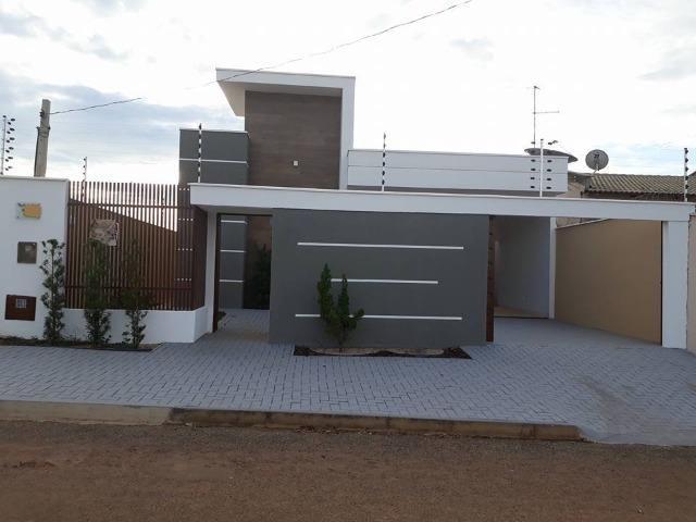 Casa Nova Sozinha No Lote Financia 3 Quartos Sendo 1 Suíte Frente Pra Sombra Palmas-To