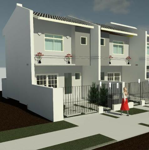 Casa Sobrado Novo - MCMV - Entrada Parcelada