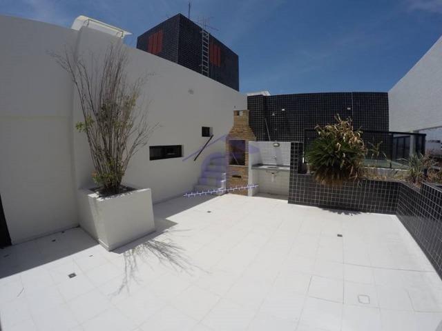 Cobertura nova com 3 quartos (2 suítes), piscina - Edifício Monalisa - Ponta Verde