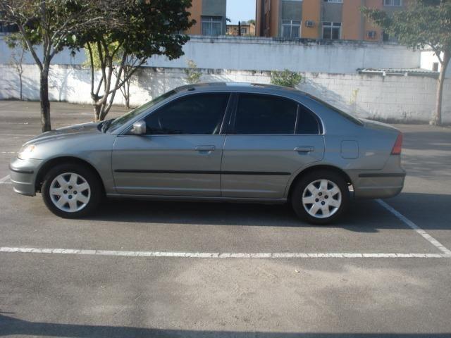 Honda Civic 2002 Impecável No Meu Nome Desde 2011 Vistoriado 2018 GNV