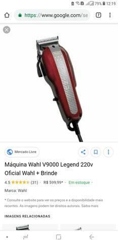 484d2ebef Maquina Cortar Cabelo Profissional Wahl Pro Basic 220v - Outros ...