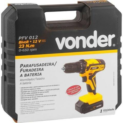 Parafusadeira e furadeira PFV a bateria biv. aut.- Vonder - Foto 4