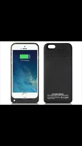 Capa carregadora para com iPhone 6 Plus, 6s Plus, 7 Plus ou iphone 8 Plus