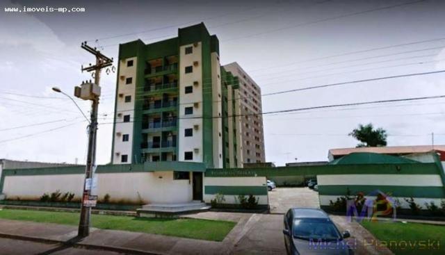 Apartamento com elevador no 3º Andar, sol nascente de 62,39m²