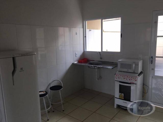 Casa com 2 dormitórios para alugar, 50 m² por r$ 650/mês - jardim maria imaculada i - brod - Foto 6