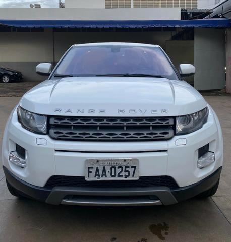 Range Rover Evoque Branca Interior Caramelo
