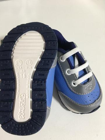 Lote Sapatos menino Novos - Foto 3
