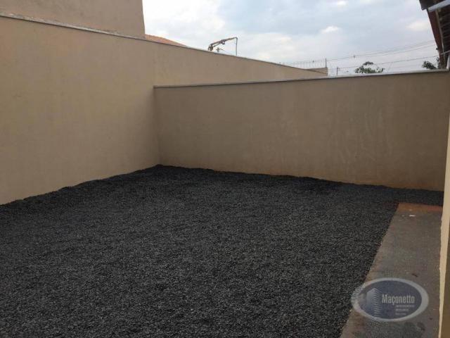 Casa com 2 dormitórios para alugar, 50 m² por r$ 650/mês - jardim maria imaculada i - brod - Foto 12