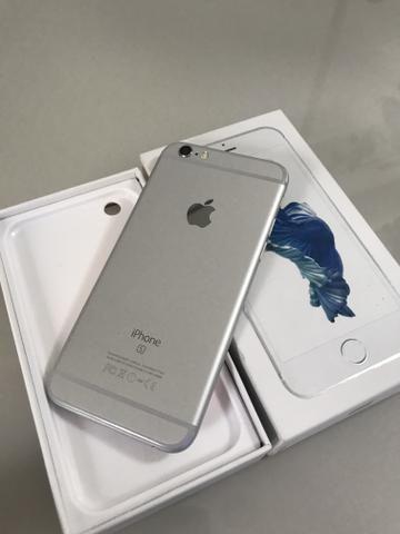 IPhone 6s 64gb Prata com caixa e todos acessórios