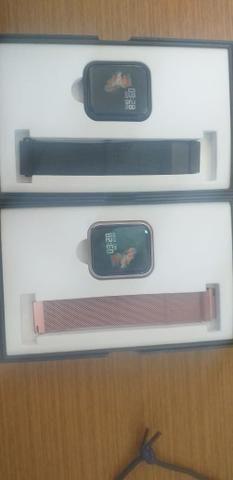 Entrega-gratis-Relógio Smart Watch P70 - Foto 4