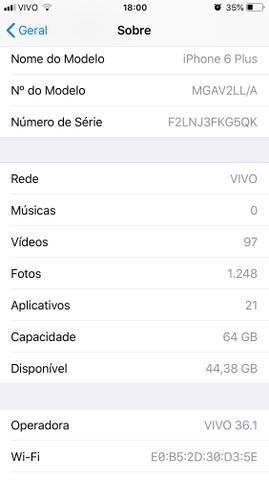 IPHONE 6 PLUS 64gb - Foto 3