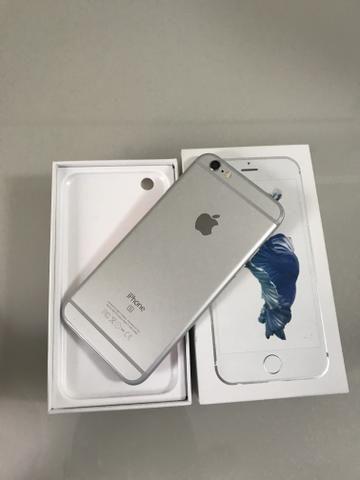 IPhone 6s 64gb Prata com caixa e todos acessórios - Foto 3