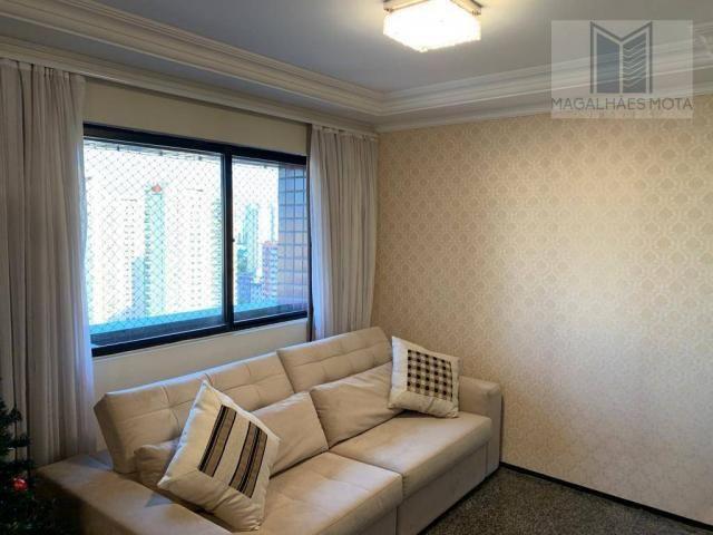 Apartamento com 3 dormitórios à venda, 127 m² por R$ 570.000 - Aldeota - Fortaleza/CE - Foto 8
