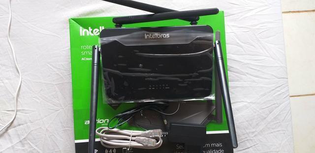 Roteador Wireless Intelbras Action Rf 1200 Smart Dual Band - Foto 2